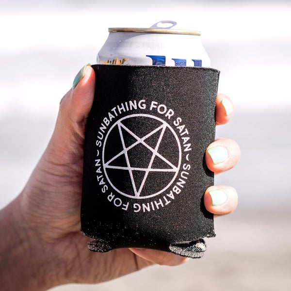 Image of Sunbathing For Satan Coozie