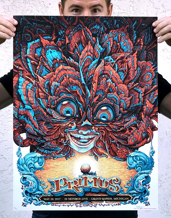 Image of PRIMUS Gig Poster Main Colorway
