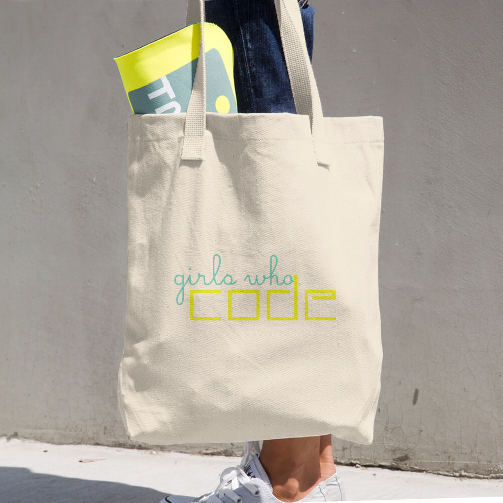 Image of Girls Who Code Classic Tote