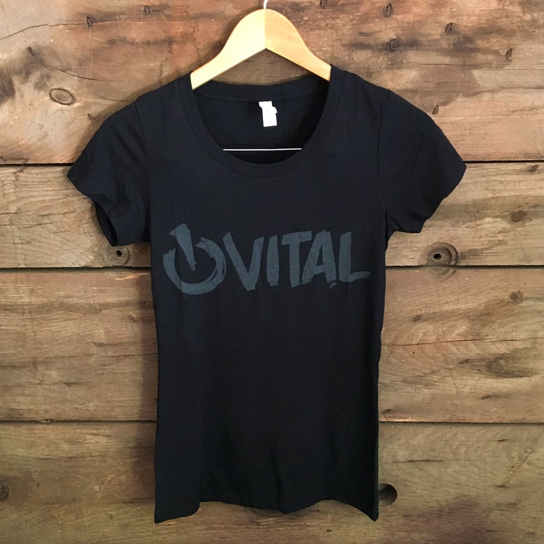 Image of Vital Brush Women's T-Shirt, Black