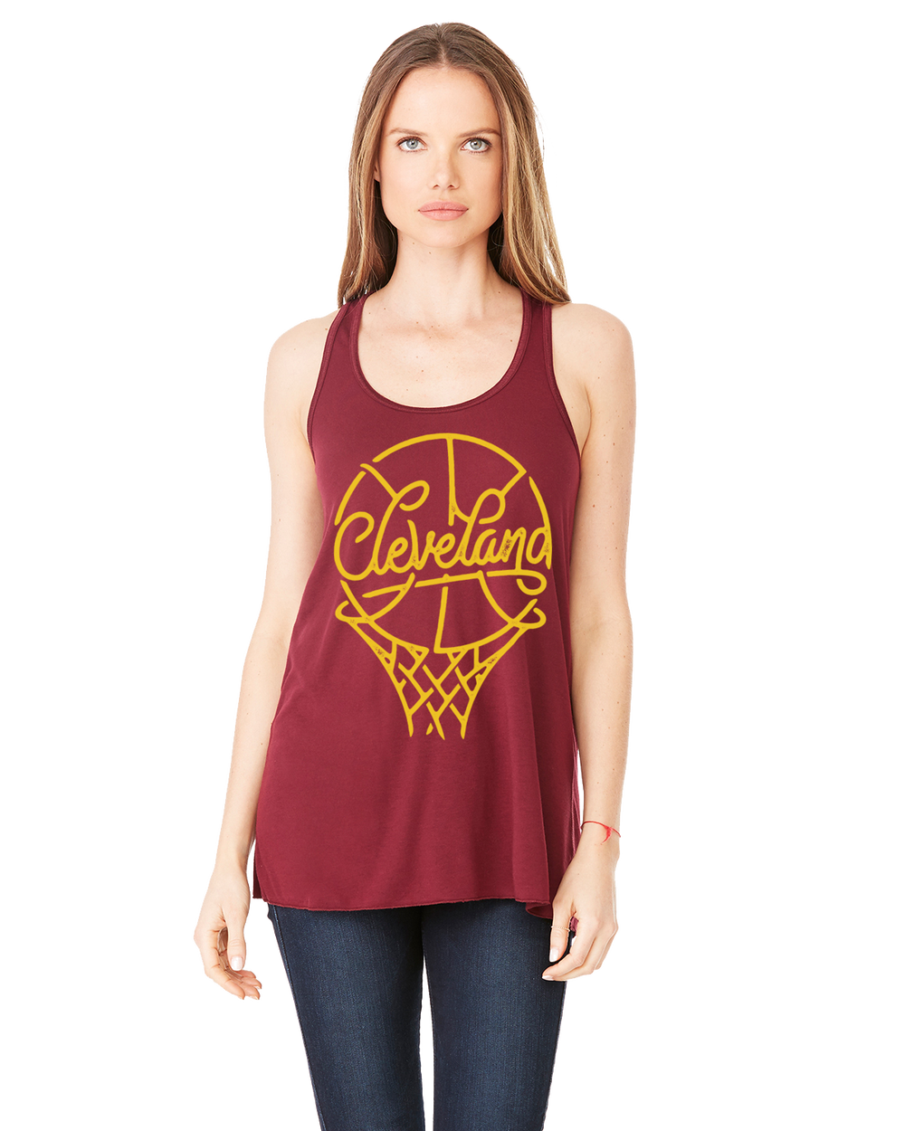 Image of Cleveland Basketball ladies Tanktop