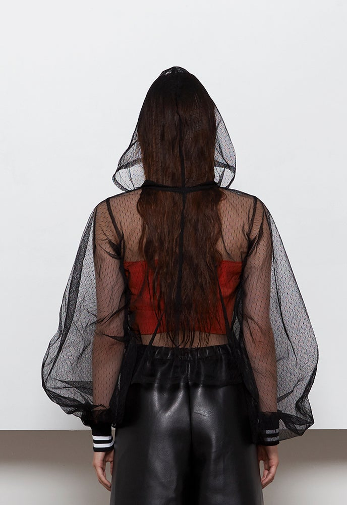 Image of Mojo Lace Hoodie
