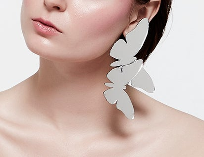"""Image of """"Hit The Butterfly"""" earrings"""