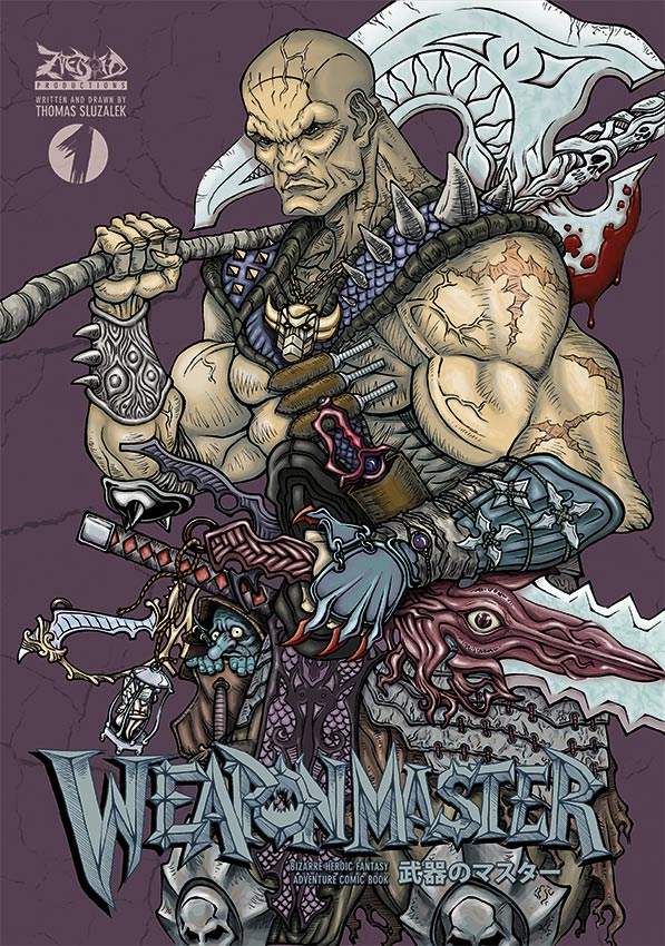 Image of WEAPON MASTER #1 (2nd Edition)