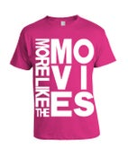 Image of More Like The Movies Title T-shirt