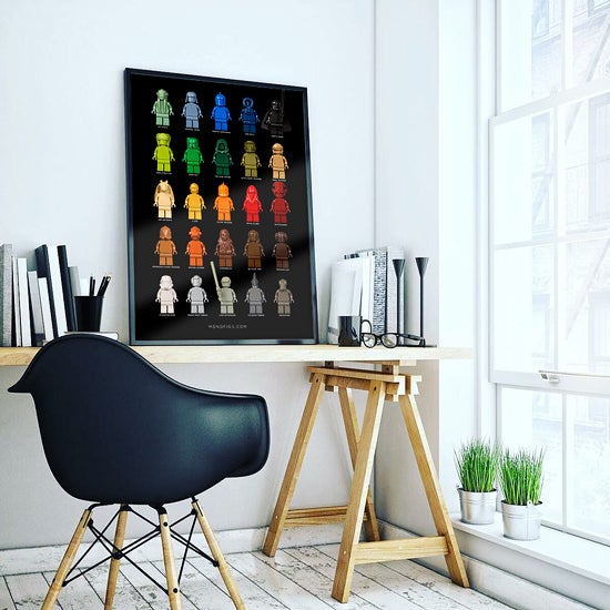 Image of STAR WARS MONOFIGS POSTER