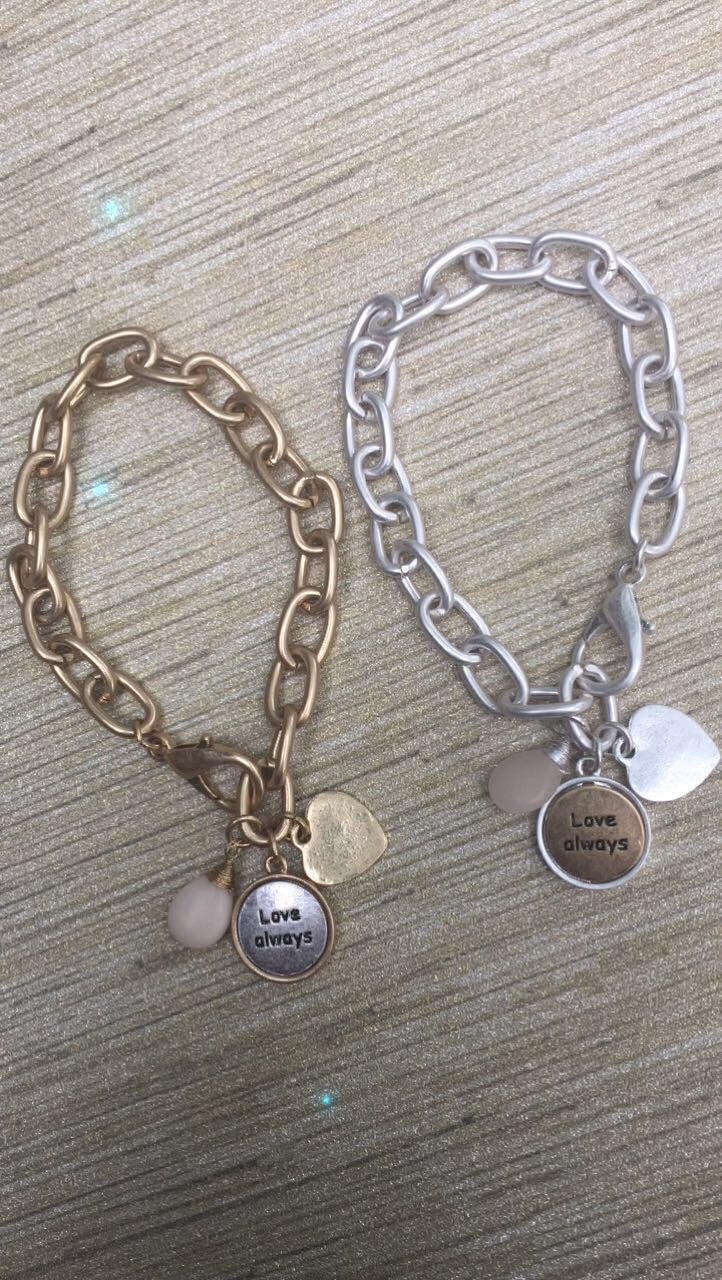Image of Love Always Charm Bracelet