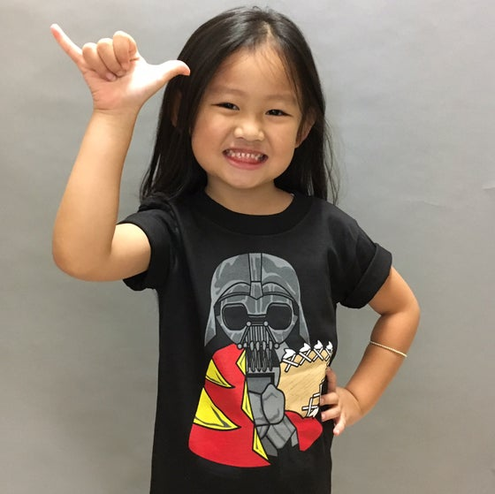 Image of KID'S DARTH ALI'I T-SHIRT