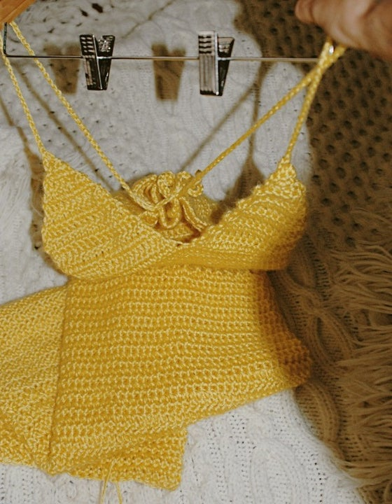 Image of CROCHET SUN DRESS