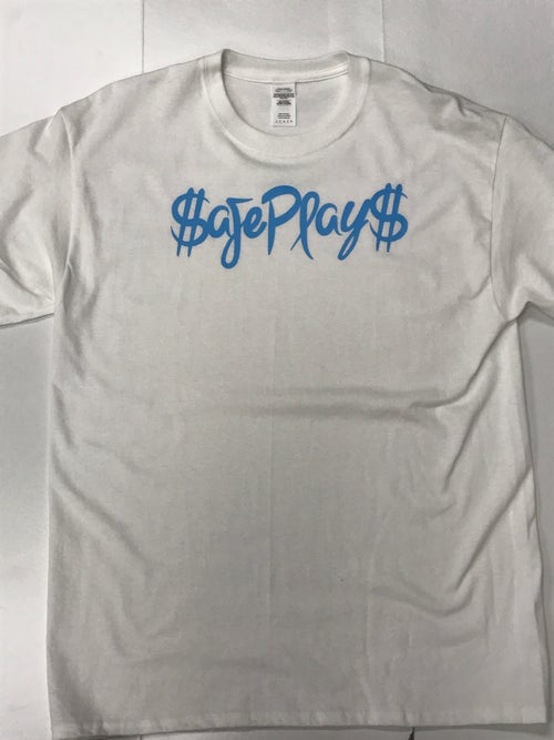 "Image of Custom Solid ""SafePlays"" *White*"