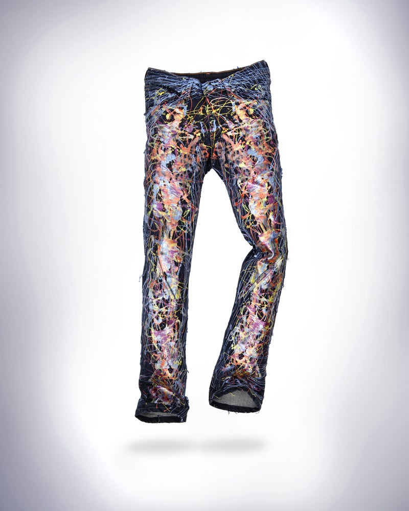Image of Anna Wintour's Jeans for Refugees