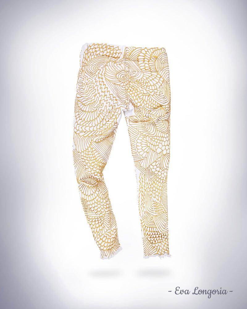 Image of Eva Longoria's Jeans for Refugees
