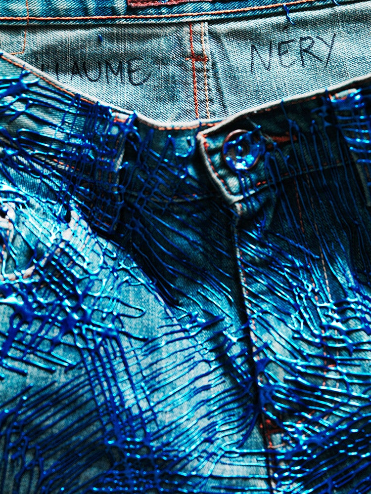 Image of Guillaume Nery's Jeans for Refugees