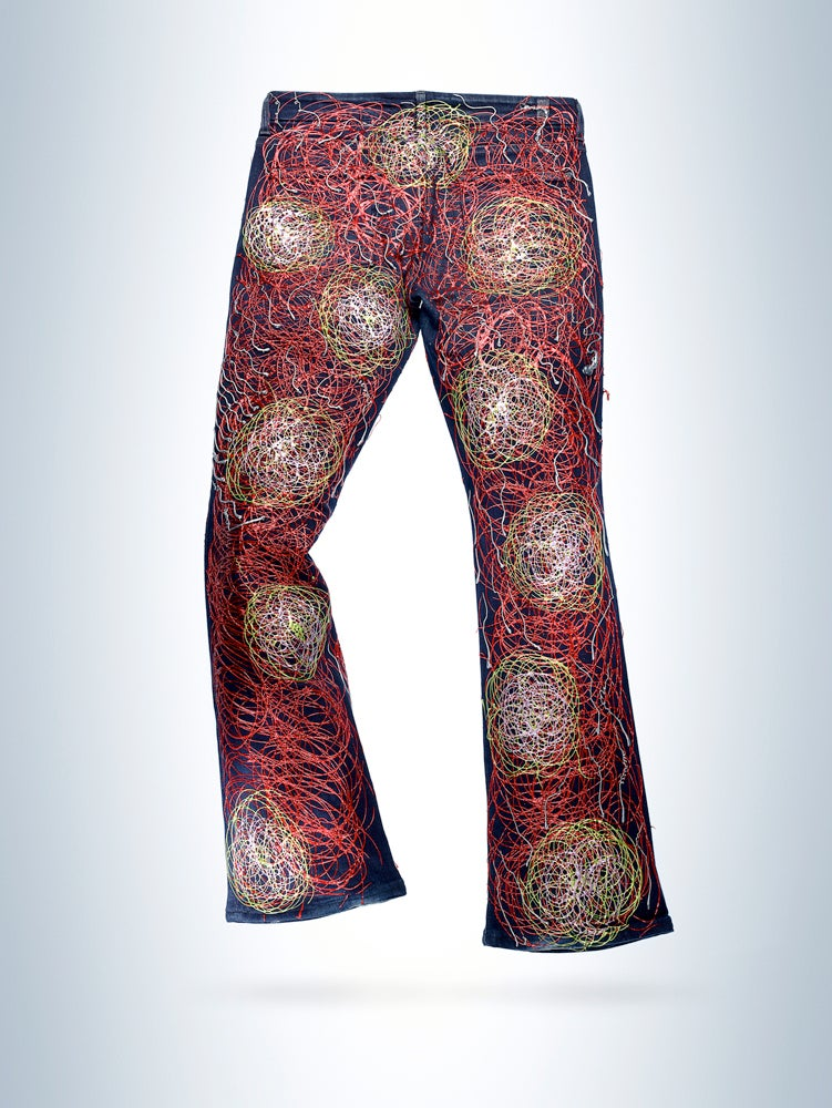 Image of Isabelle Adjani's Jeans for Refugees