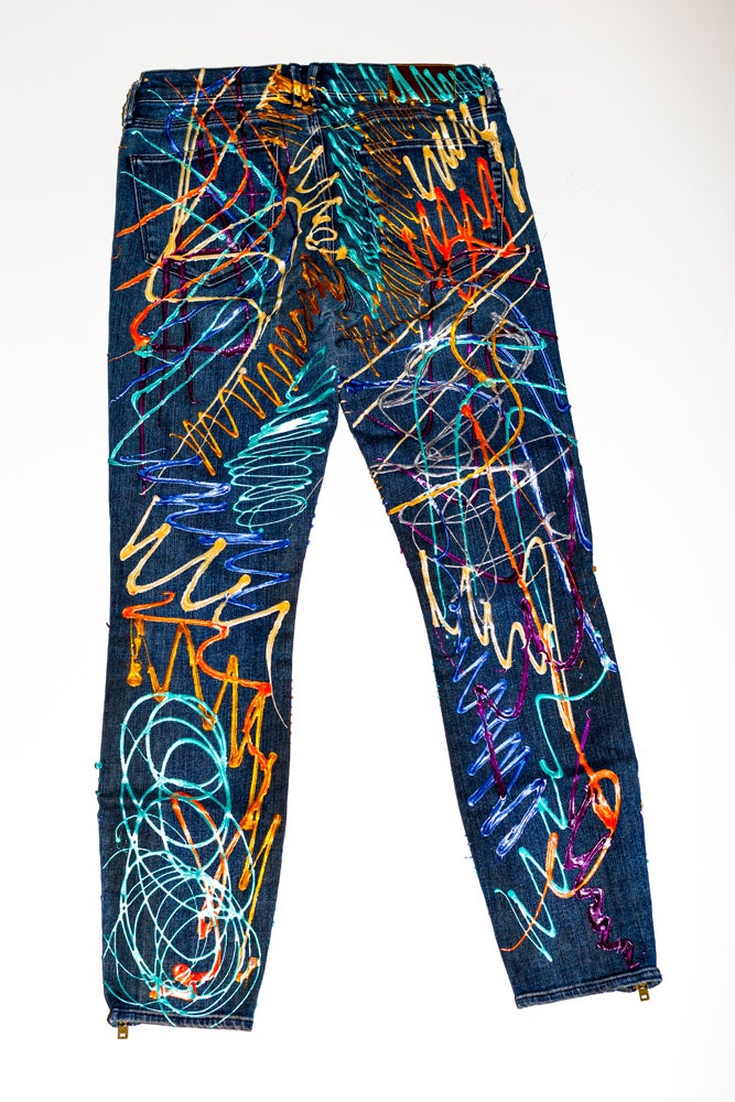 Image of Vanessa Carlton's Jeans for Refugees