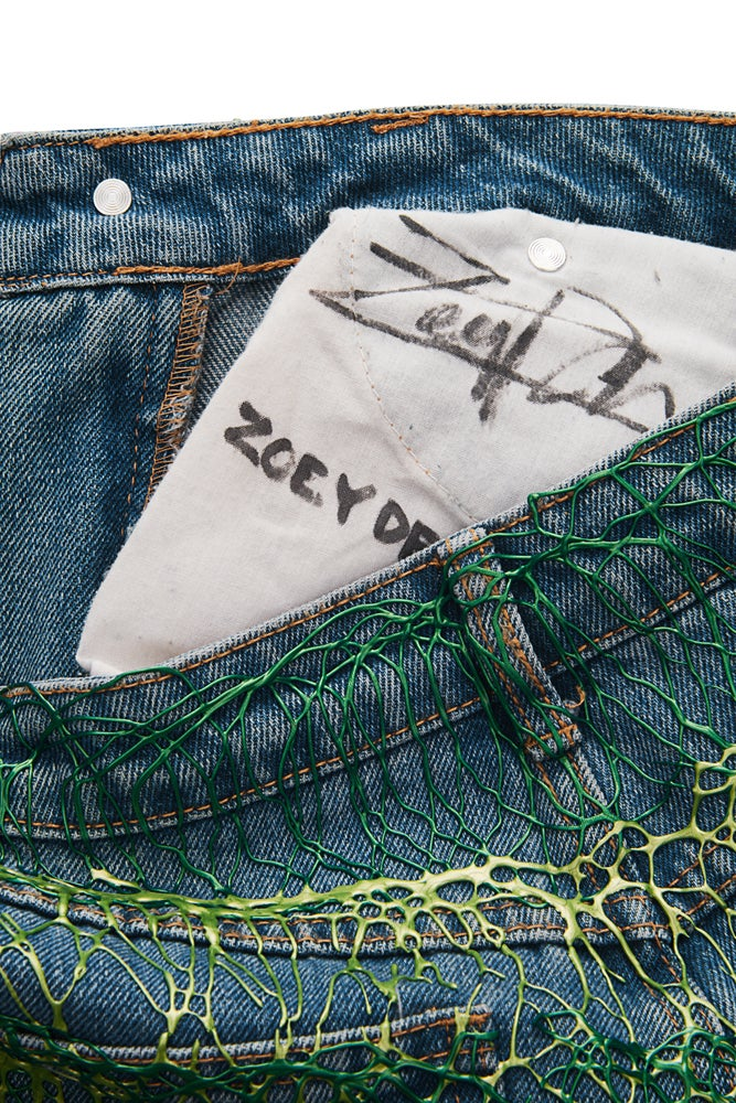 Image of Zoey Deutsche's Jeans for Refugees