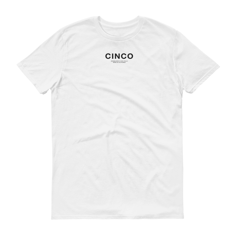 Image of White CINCO Tee