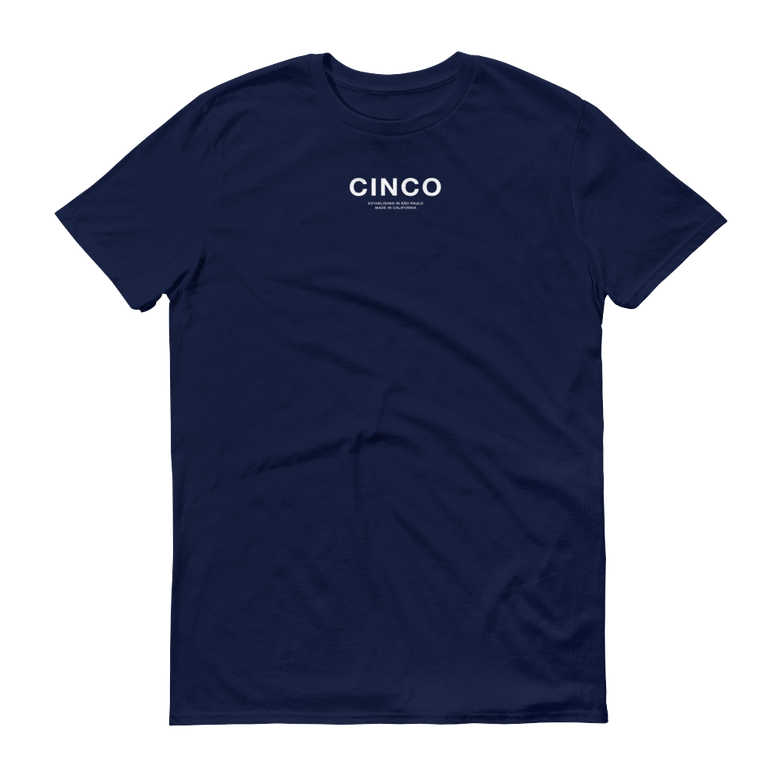 Image of Navy CINCO Tee
