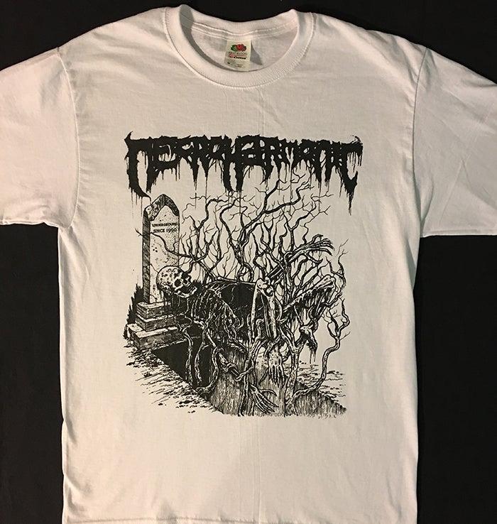 "Image of Necroharmonic "" Underground since 1990 "" T shirt"
