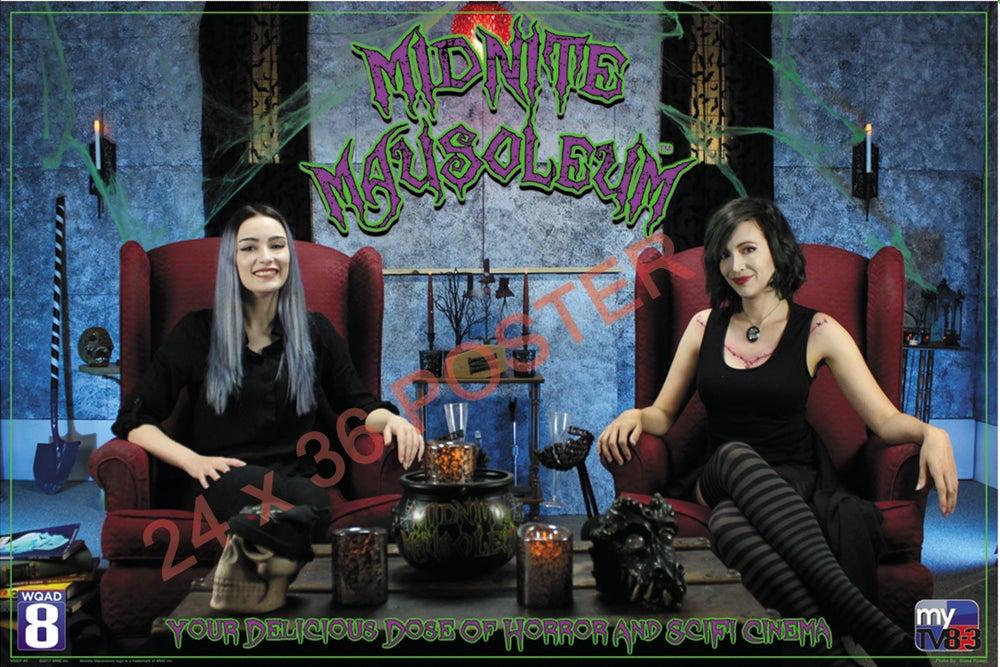 Image of Midnite Mausoleum 24 x 36 Poster (Design #5 )