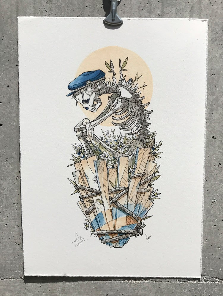 Image of Trials of Life - A3 & A4 available