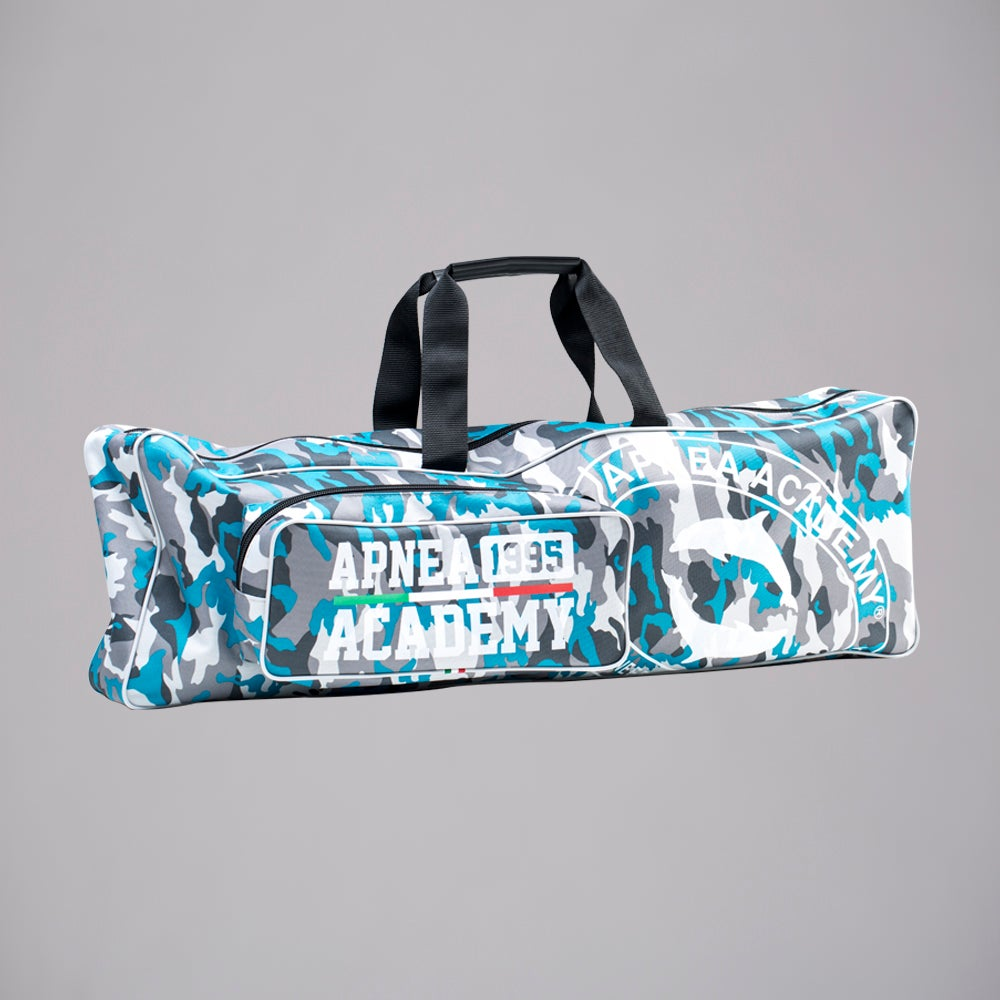 Image of NEW DOUBLE FINS BAG CAMO BLU