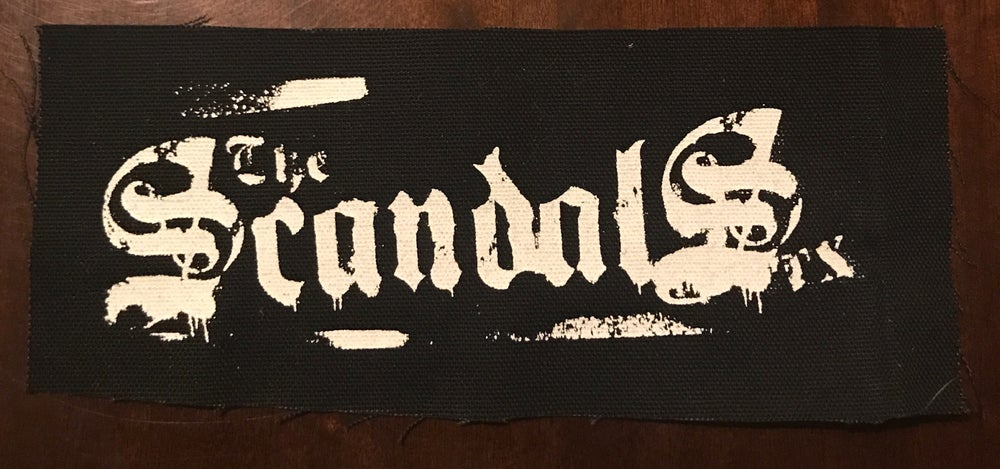 Image of The Scandals TX printed cloth patch