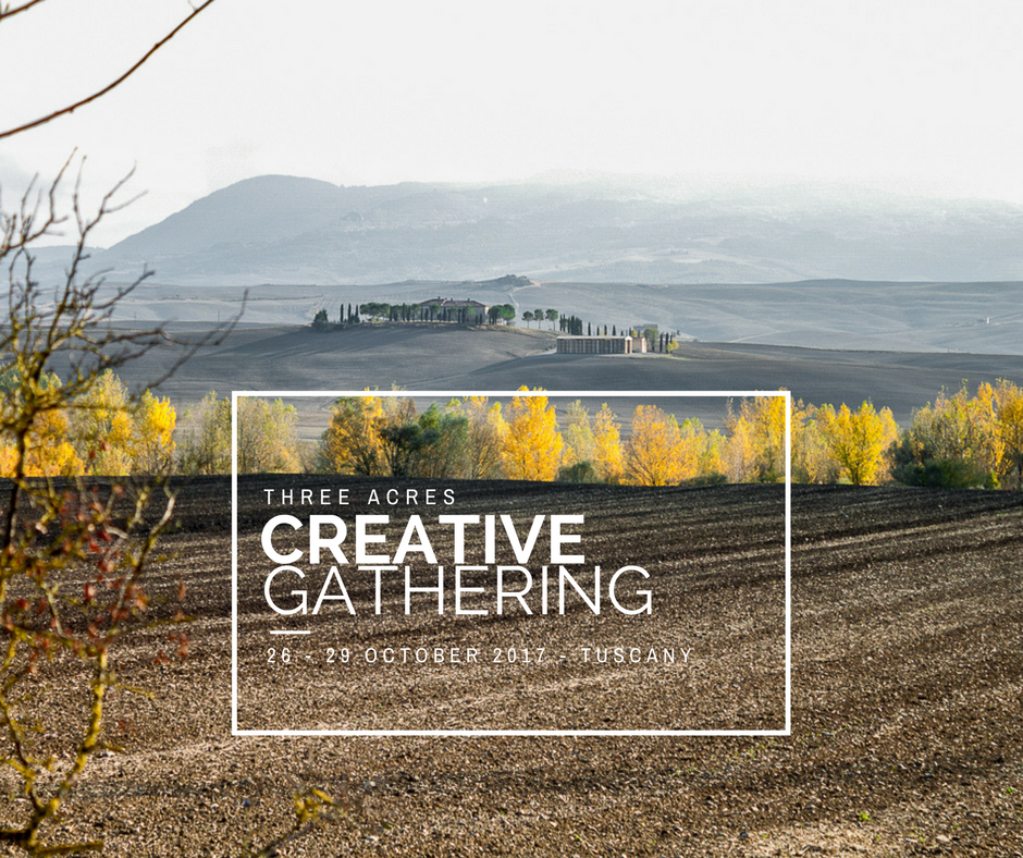 Image of Three Acres Creative Gathering 2017 - Autumn Edition