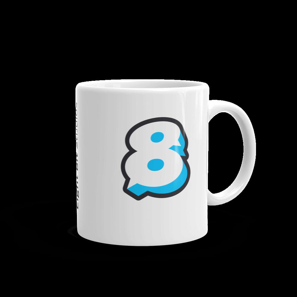 Image of Eight Bit Logo Mug