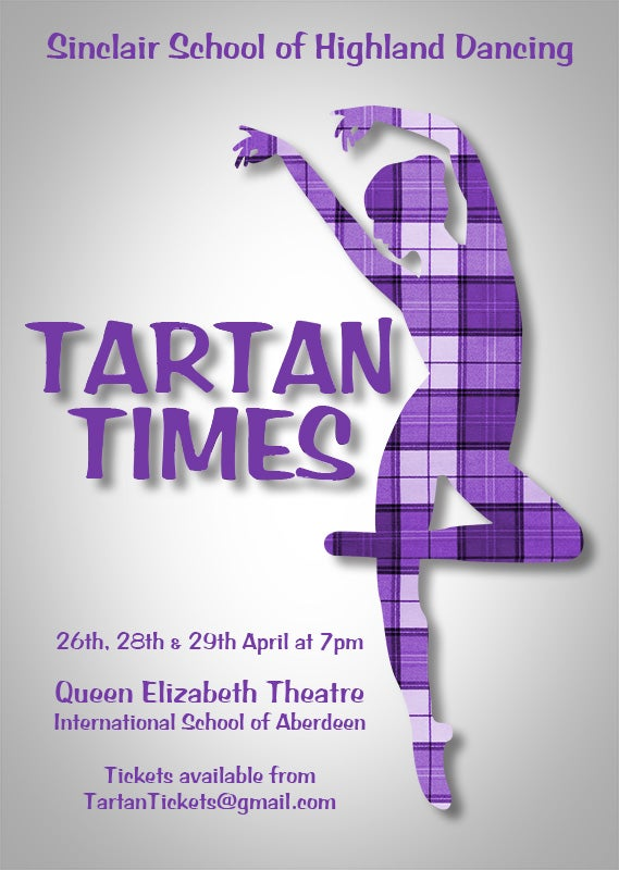 Image of Tartan Times - Sinclair School of Highland Dancing