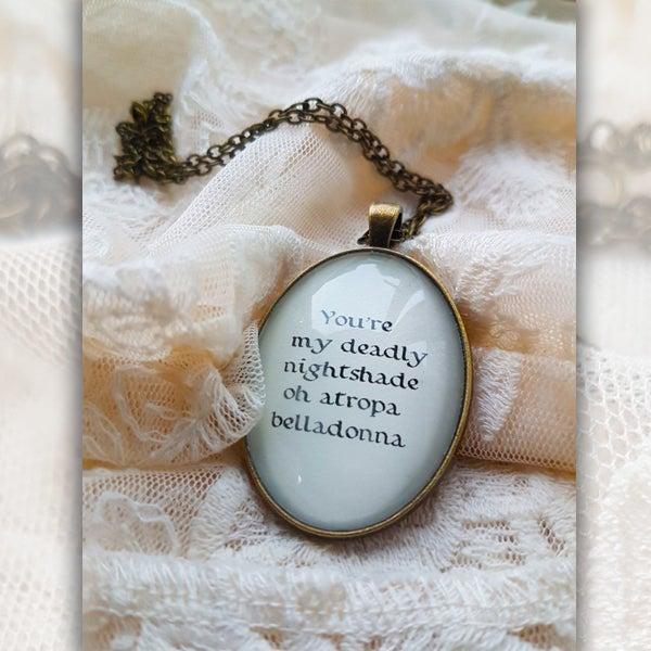 Image of Deadly Nightshade Necklace