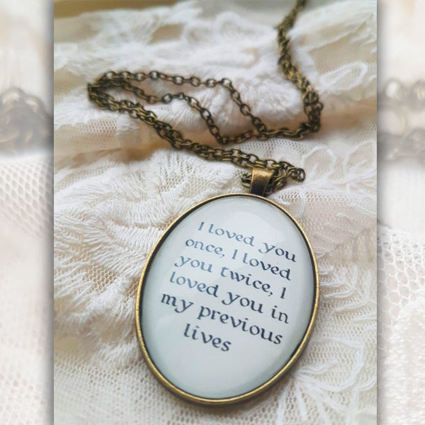 Image of Until Eternity Necklace [LYRIC 1]
