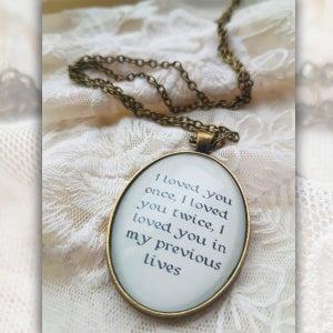 Image of Until Eternity Necklace [LYRIC 1]