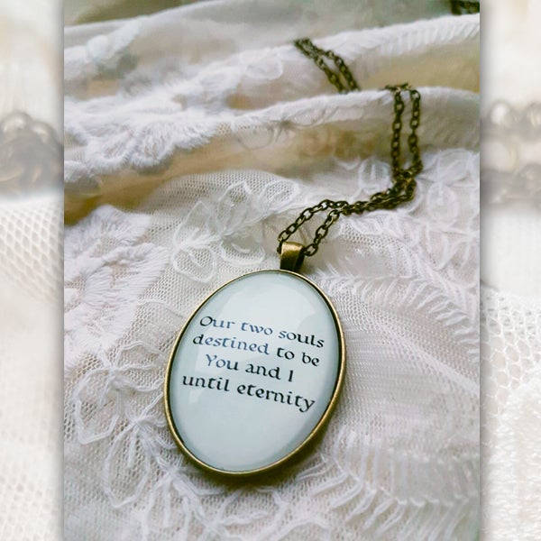 Image of Until Eternity Necklace [LYRIC 2]