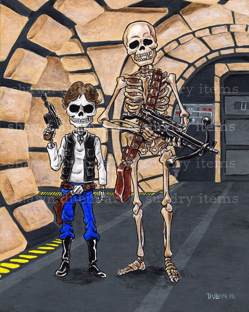 Image of han and chewie