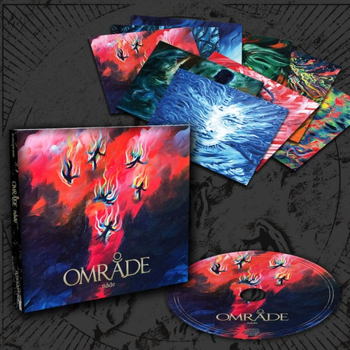 "Image of OMRÅDE ""Nåde"" digiCD"
