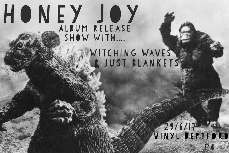 Image of Honey Joy, Witching Waves & Just Blankets Tickets 29/6