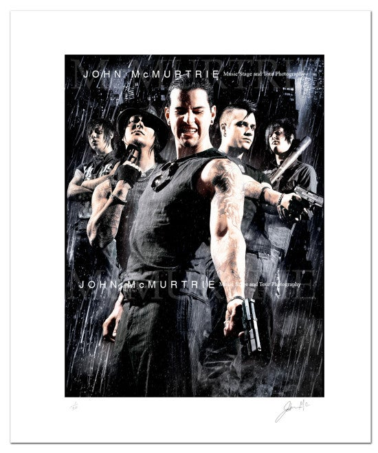 Image of AVENGED SEVENFOLD - CITY OF EVIL/SIN CITY 20x16
