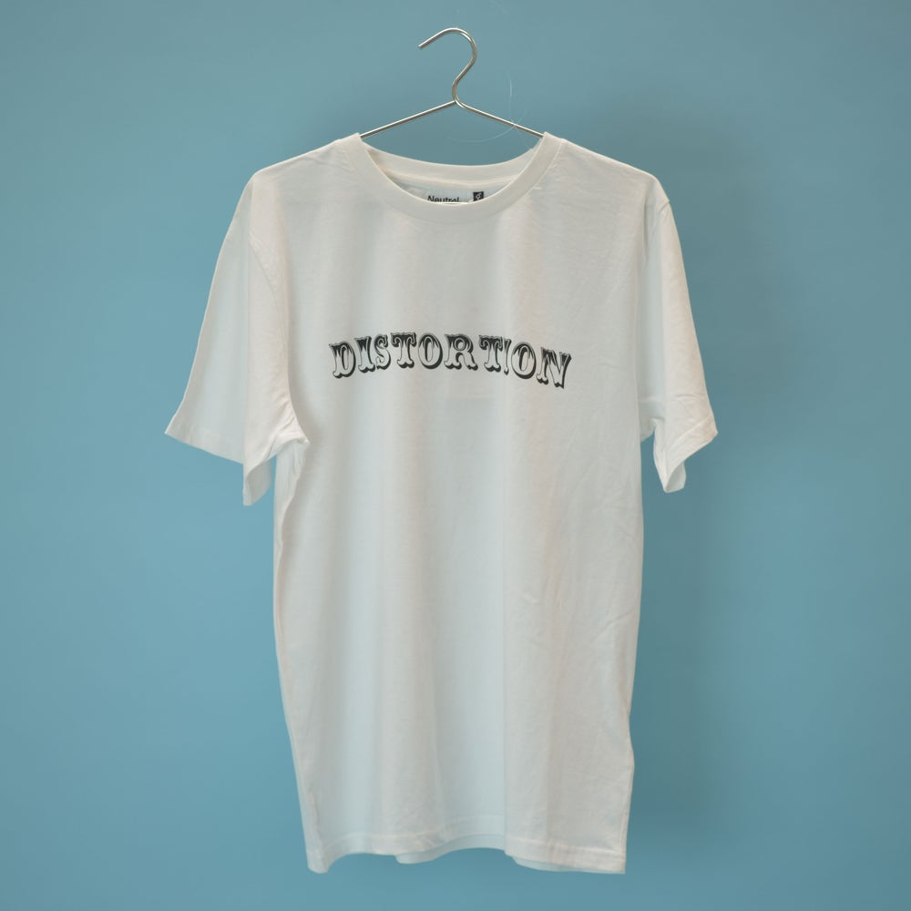 Image of White Letterhead T-shirt
