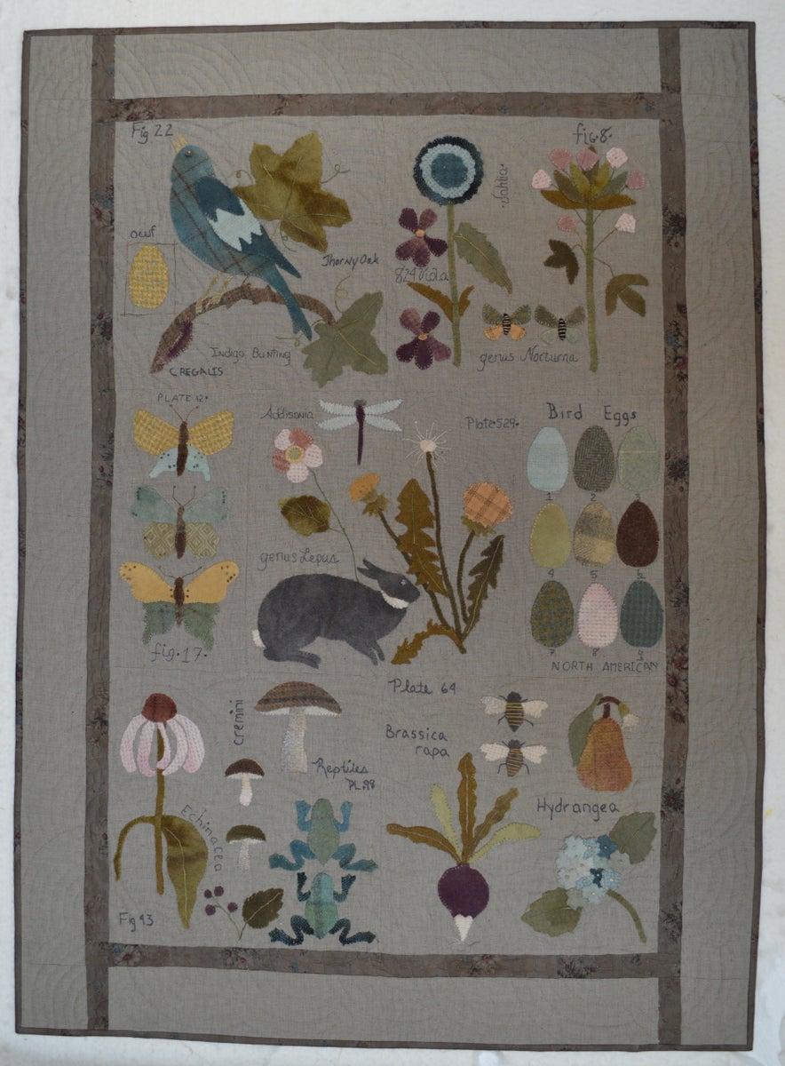 Botanical Sketchbook Bom Pattern Set on Simple Home Layout