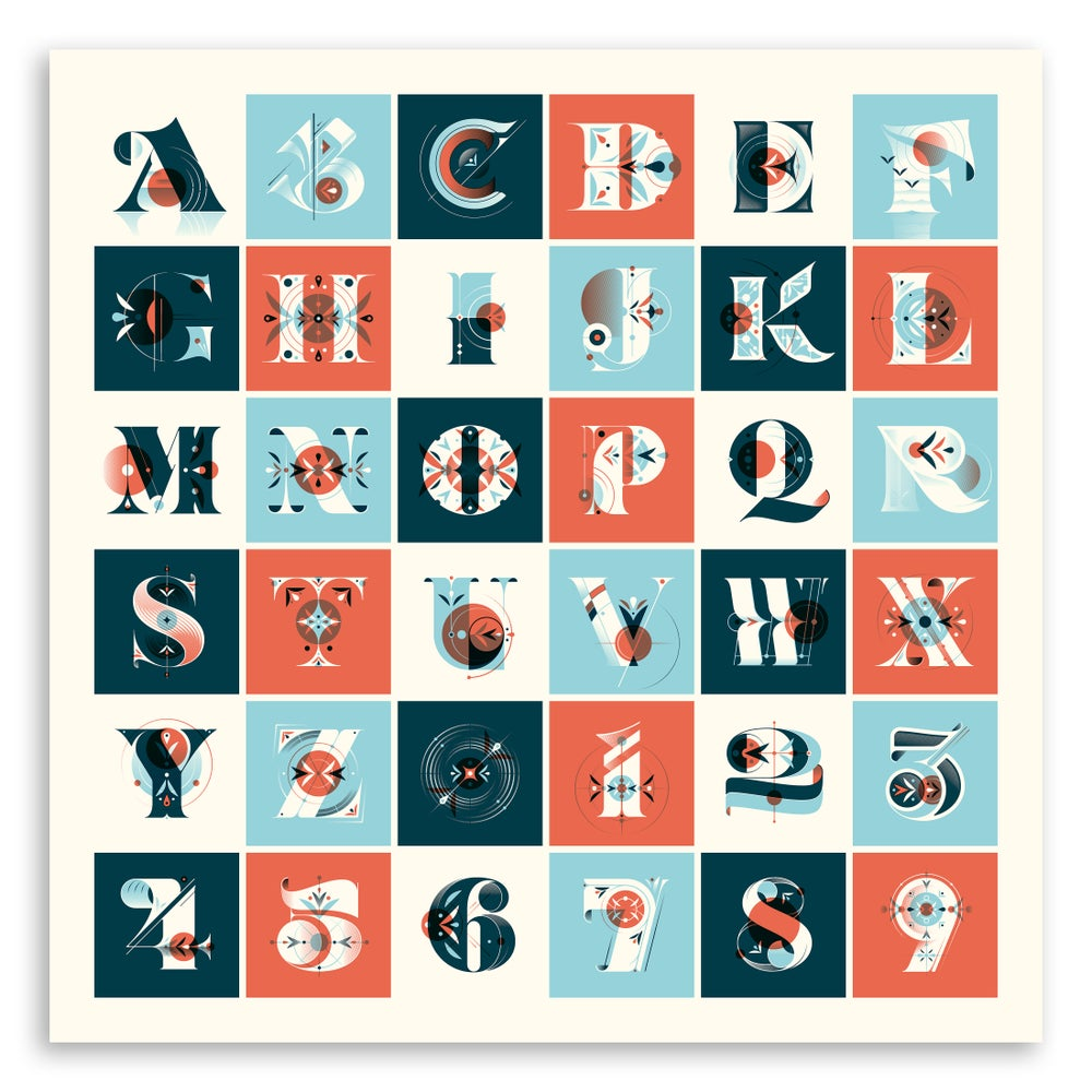 Image of 36 Days of Type Poster