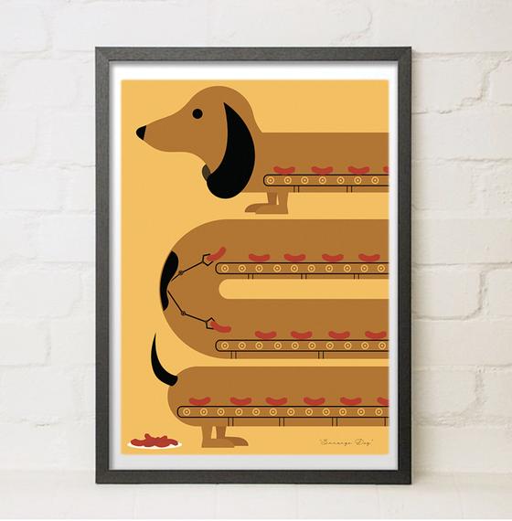 Image of Different Breeds - Sausage Dog