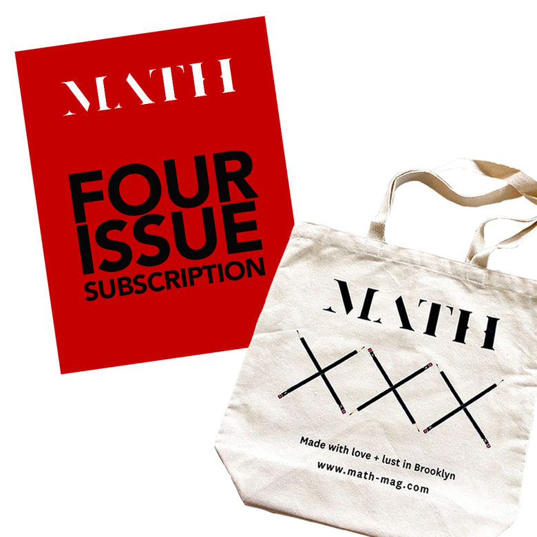 Image of Math Magazine, One Year Subscription + Tote (US ONLY & ONLY AVAILABLE ONLINE)