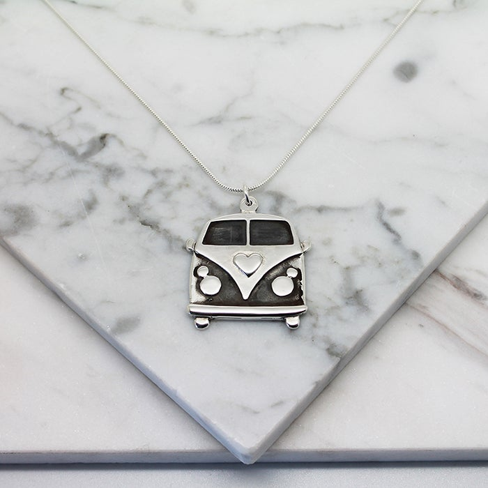 Image of Kombi Van Sterling Silver Necklace