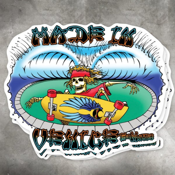 Image of Made In Venice Wes Humpston Sticker