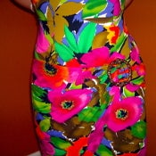 Image of TROPICAL D.B.A.-L.A. Belted MINI Dress