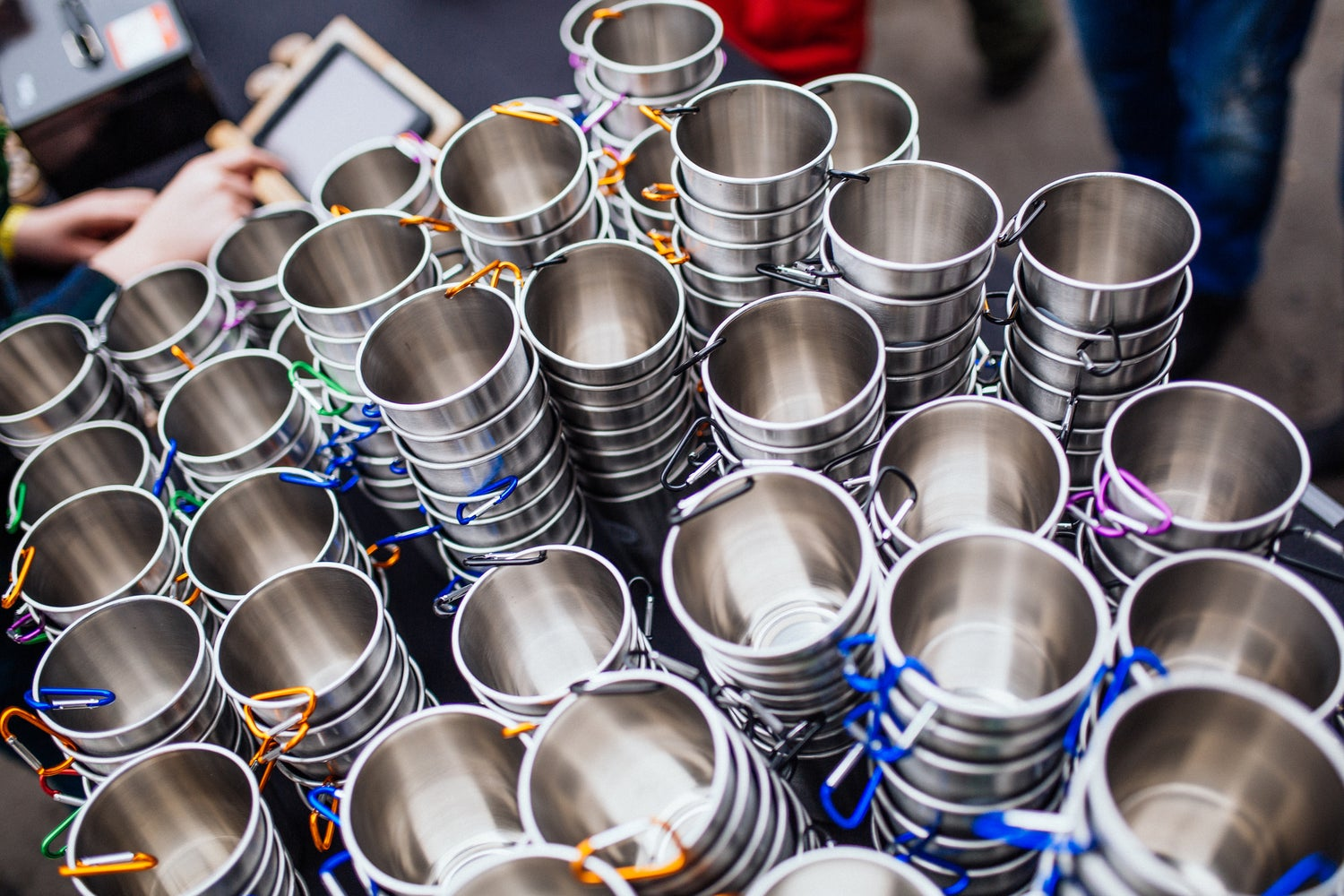 Image of Steel Cups