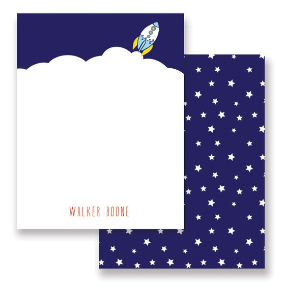 Image of BLast off Stationery + Envelopes