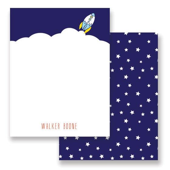 Image of BLast off Stationery + Envelopes