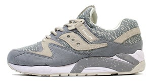 Image of Grey Knit Grid 9000